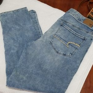 American eagle outfitters skinny Jean's 12 short